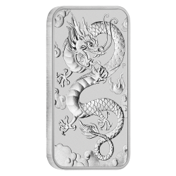 Rectangular Dragon Silver Coins