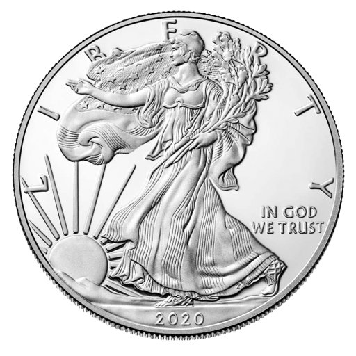 1 oz American Eagle Silver Coin (2020)