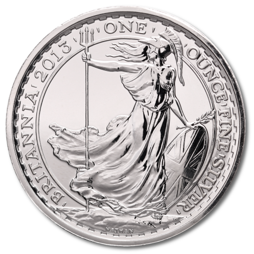 1 oz Britannia Privy Mark Serpent | Argent | 2013