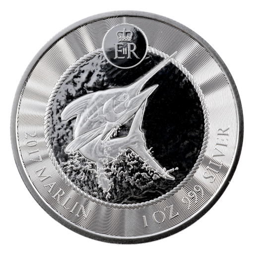 1 oz Cayman Islands Marlin | Argent | 2017