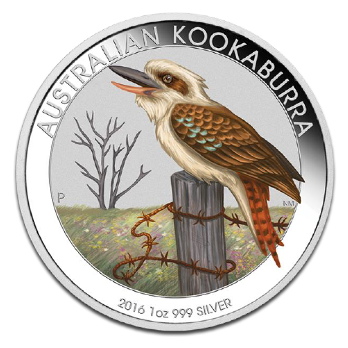 1 oz Kookaburra World Money Fair Special | Silver | 2016