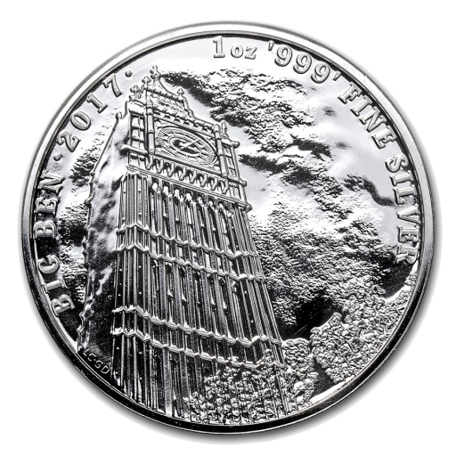 1 oz Landmarks of Britain - Big Ben | Silver | 2017