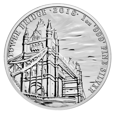 1 oz Landmarks of Britain - Tower Bridge | Silver | 2018