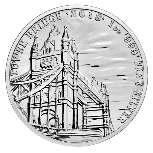 1 oz Landmarks of Britain - Tower Bridge | Argent | 2018
