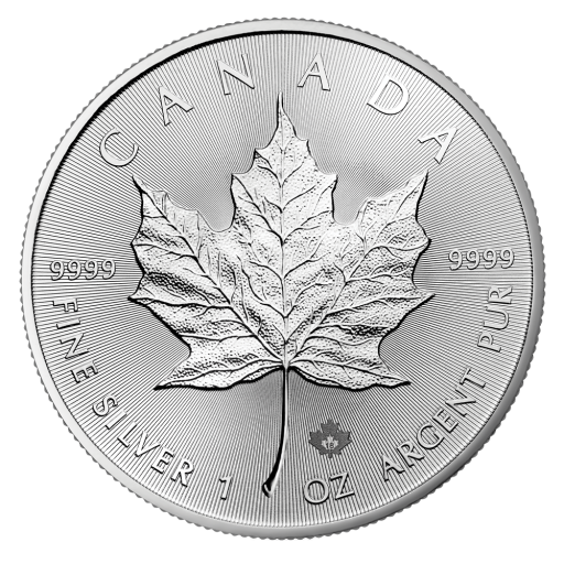 1 oz Maple Leaf | Silver | 2018