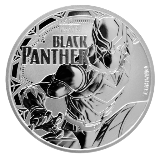 1 oz Marvel's Black Panther | Silber | 2018