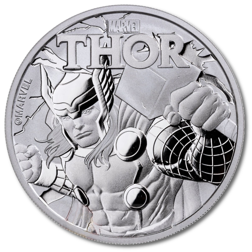 1 oz Marvel's Thor Silver Coin 2018