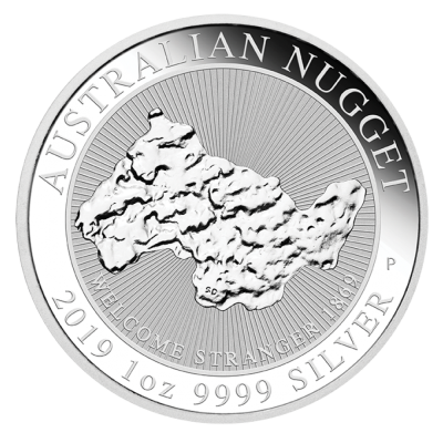 1 oz Nugget Welcome Stranger | Argent | 2019