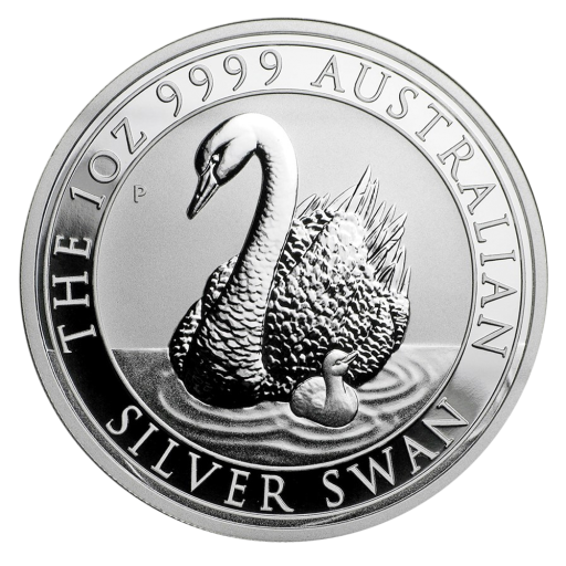 1 oz Perth Mint Silver Swan (2018)