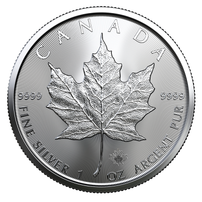 1 oz Maple Leaf | Argent | 2020