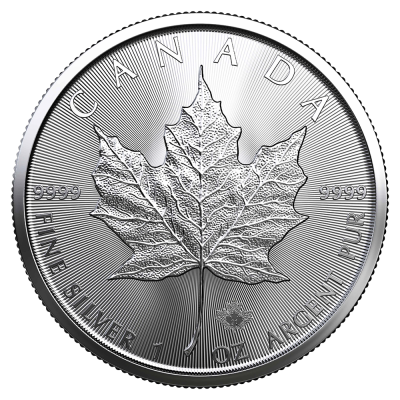 1 oz Maple Leaf Argento | 2021