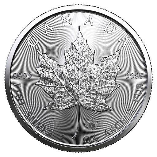 1 oz Maple Leaf Silbermünze (2021)