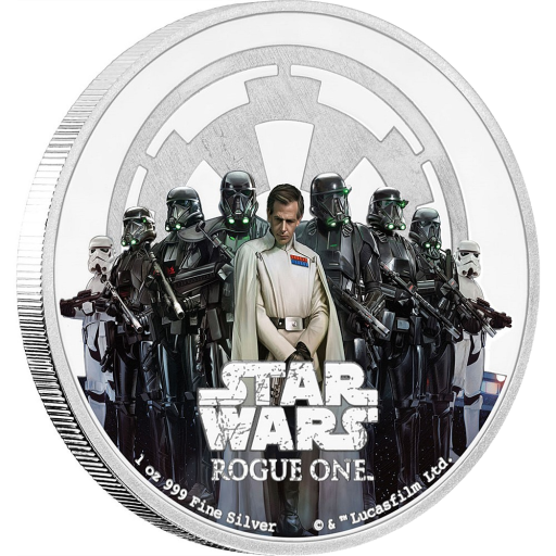 1 oz STAR WARS Rogue One - L'Impero | Argento | 2016