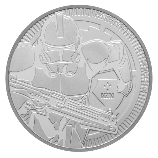 1 oz STAR WARS The Clone Trooper | Silber | 2019