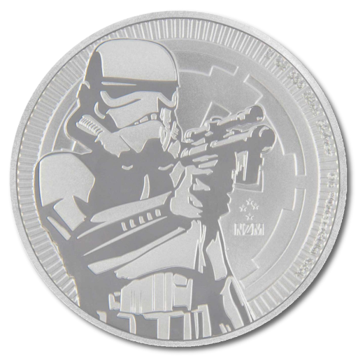 1 oz STAR WARS The Stormtrooper | Silver | 2018