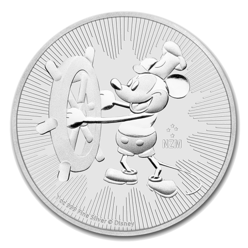 1 oz Steamboat Willie | Argento | 2017
