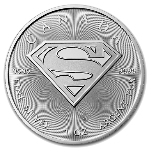 1 oz Superman™ | Plata