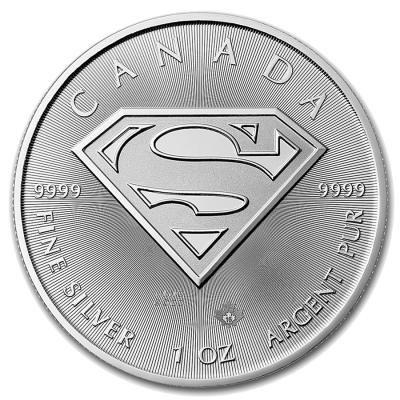 1 oz Superman™ | Argent