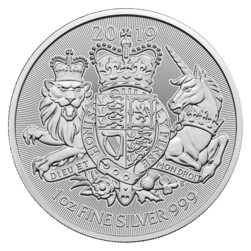 1 oz The Royal Arms pièces d'argent (2019)