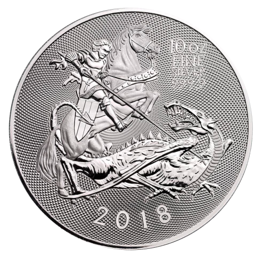 10 oz The Valiant Silver Coin (2018)
