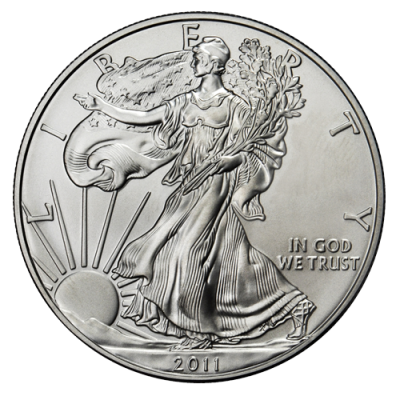 1 oz American Eagle Silver (mixed years)