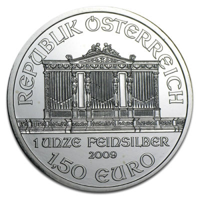 1 oz Silver Vienna Philharmonic (mixed years)